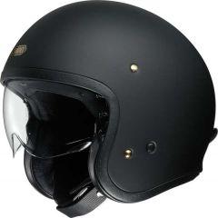 Shoei J.O. Open Face Helmet  Matt Black Matt